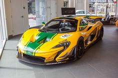 Track-focused McLaren P1 GTR front side view