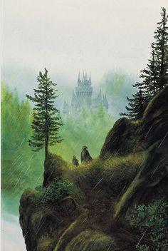 John Howe, Descent to Rivendell
