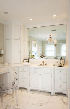 Bathroom Cabinets Corner bathroom vanity. corner bathroom vanity design. #cornervanity