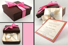 Box Invitations on Pinterest | Box Wedding Invitations, Indian Wedding Cards and Couture Wedding ...