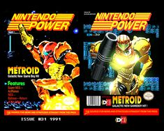 Metroid Nintendo Power Tribute by DareDesignStudio.deviantart.com on @DeviantArt
