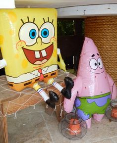 The Krusty Krab Spongebob Party - Bella Paris Designs