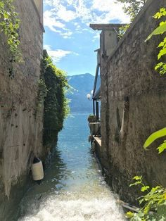 """""""For me, Lago di Garda connects mountains and water in a heavenly shape"""" - travel inspiration by Katja R. - """"For me, Lago di Garda connects mountains and water in a heavenly shape"""" – travel inspiration by - Africa Destinations, Travel Destinations, World Most Beautiful Place, Beautiful Places, Celestial, Travel Itinerary Template, Vintage Travel Trailers, Lake Garda, Backpacking Europe"""