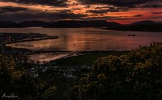 Lyle Hill sunset