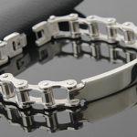Bracelets Bushed Chain Mens Bracelet