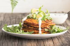 Savory Sweet Potato Pancakes / Food Matters (use egg replacement to veganize) Breakfast And Brunch, Paleo Breakfast, Breakfast Recipes, Breakfast Ideas, Paleo Recipes, Real Food Recipes, Cooking Recipes, Clean Eating, Healthy Eating