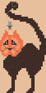 By The Bay Needleart: 2012 Annual Free Pumpkin Head Chart is Here!! KITTY