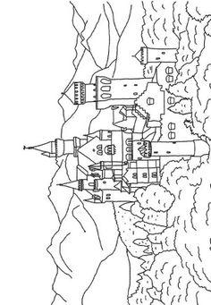 castles coloring page 27 - Castles Pictures To Colour