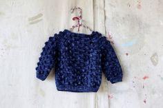 Ink Popcorn Sweater