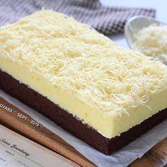 Delicious Cake Recipes, Yummy Cakes, Sweet Recipes, Brownie Recipes, Snack Recipes, Dessert Recipes, Desserts, Bolu Cake, Resep Cake