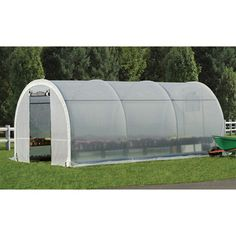 ShelterLogic GrowIT Organic Growers Pro RoundTop Greenhouse — 10ft.W x 19ft.8in.L x 8ft.H, Model# 70576