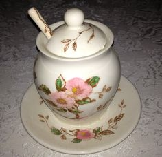 Vintage Nasco Springtime Jam/Jelly Jar with Lid by YouandVintage, $14.00