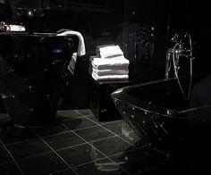 Seven Hotel, Paris (Maranatha Hotels) - The Black Diamond Suite Paris Bathroom, Glamorous Bathroom, Granite Bathroom, Beautiful Interior Design, Black Granite, Paris Hotels, Living At Home, Hotel Reviews, Best Hotels