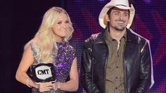 2012 CMT Music Awards: Carrie & Brad