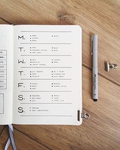 Need to get back to basics? Try this no muss no fuss minimalistic weekly bullet journal spread.