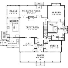 Gilliam Springs House Plan (133106) Design from Allison Ramsey Architects