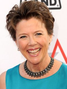 ... on Pinterest Annette bening, Short hairstyles and Short haircuts