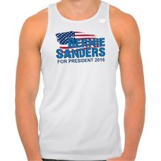 Bernie Sanders For President 2016 Tee Shirt Tank Tops