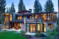 modern rustic house - Szukaj w Google