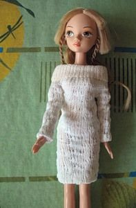 tutorial for a barbie dress from a sock!!!