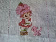 cross stitch Strawberry Shortcake Baby by alessandra_angelita, via Flickr