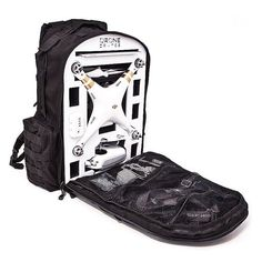 Carry your DJI Phantom 3 drone out into the wild with all it needs to fly inside this comfortable, conveniently designed backpack.