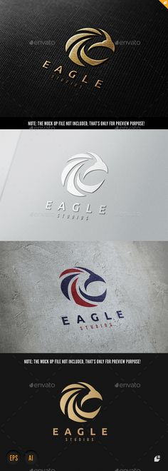 Eagle Logo Template Vector EPS, AI. Download here: http://graphicriver.net/item/eagle/15667713?ref=ksioks