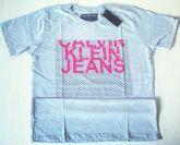 Camisa Calvin Klein cinza