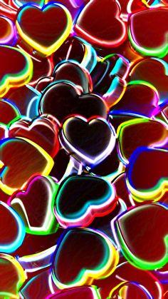 heart wallpaper by dathys - 32 - Free on ZEDGE™ Free Fall Wallpaper, Wallpaper Iphone Love, Chevron Wallpaper, Rainbow Wallpaper, Heart Wallpaper, Purple Wallpaper, Cute Wallpaper Backgrounds, Cellphone Wallpaper, Aesthetic Iphone Wallpaper