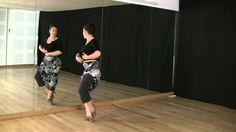 Técnica de baile flamenco: nivel básico: Vueltas de pecho