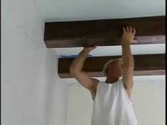 How-To Video: Simple & Easy Faux Wood Beam Installation