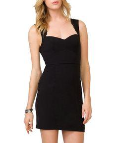 Urban Identity Women's Sweetheart Lace Sleeveless Dress(DRS-EVP,BLK-S) $29.24