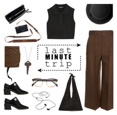 """""""Last Minute Trip"""" by deepwinter ❤ liked on Polyvore featuring Neil Barrett, Lanvin, The Row, AIAIAI, Merchant & Mills, TIBI, McQ by Alexander McQueen, Monki and lastminutetrip"""