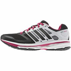 buy popular e5b00 0fb74 Women s Supernova Glide Boost Shoes, Black   Running White, zoom Naisten  Adidakset, Adidakset