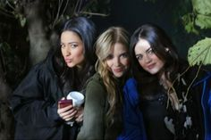 missing only Spencer... so much love for this gals! (@shay Mitchell @Ashley Walters Walters Benson and Lucy Hale!)