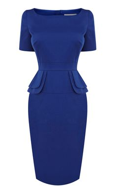 2013 Latest Karen Millen 2013 Latest Edition Peplum dress