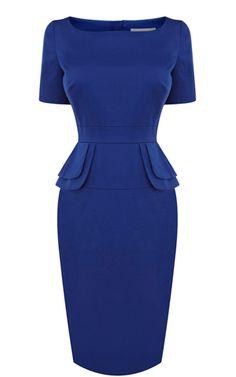 2013 Latest Karen Millen 2013 Latest Edition Peplum dress