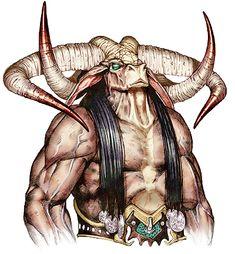 legendary minotaur, d&d