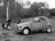 Citroën 2 CV, 1954