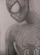 Drawing ideas pencil easy marvel 27 ideas for 2019 Spiderman 2, Spiderman Sketches, Avengers Drawings, Spiderman Drawing, Drawing Superheroes, Amazing Spiderman, Disney Drawings, Cartoon Drawings, Easy Drawings