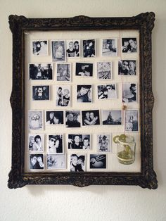 #colorful #world #crafts #diy #old #frame #pictures #wall #deco