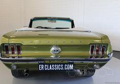 Vente voiture ancienne de collection : Ford Mustang 1967 V8 4.7 ltr Kabriolett, teil restauriert in sehr gutem Zustand - Petite annonce véhicule et automobile