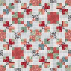Video tutorial: double disappearing 9 patch block tutorial - This is a very quick and easy block Quilting Tips, Quilting Tutorials, Quilting Designs, Quilting Projects, Sewing Tutorials, Sewing Projects, Disappearing Nine Patch, Nine Patch Quilt, Quilt Block Patterns