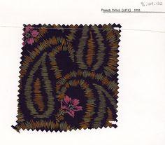 French silk print.