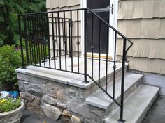 Basic Wrought Iron Railing