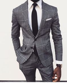 nxstyle:Wearing a pattern suit? Always go with solid shirt and...