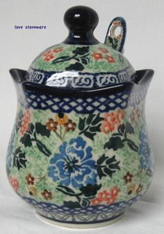 love this polish pottery pattern by mable