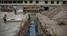 Humanitarian aid found in terrorist tunnels in Syria's Afrin