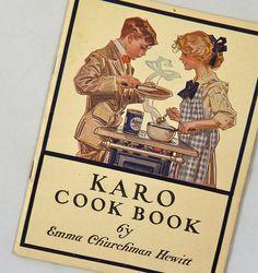 Karo Cook Book By Emma Churchman Hewitt