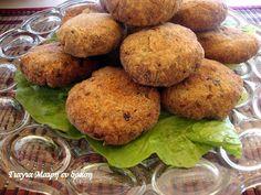 Γιγαντοκεφτέδες Baked Potato, Muffin, Potatoes, Baking, Breakfast, Ethnic Recipes, Food, Morning Coffee, Potato
